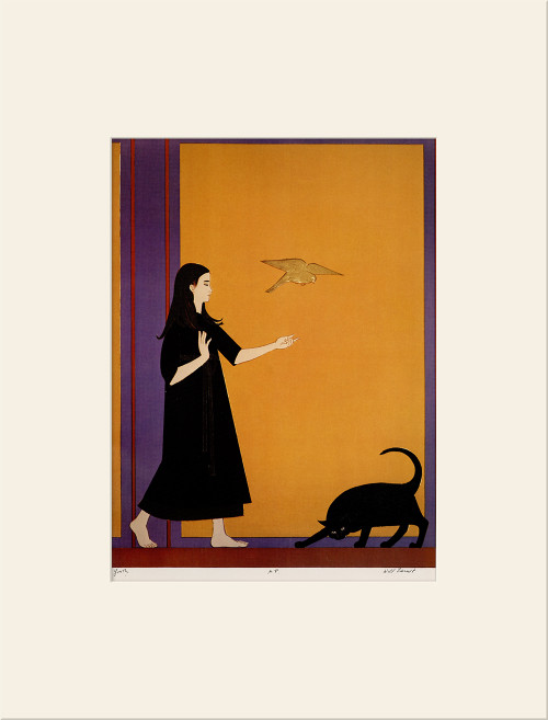 """Youth (1970)"", Vintage Offset Lithograph After Will Barnet"
