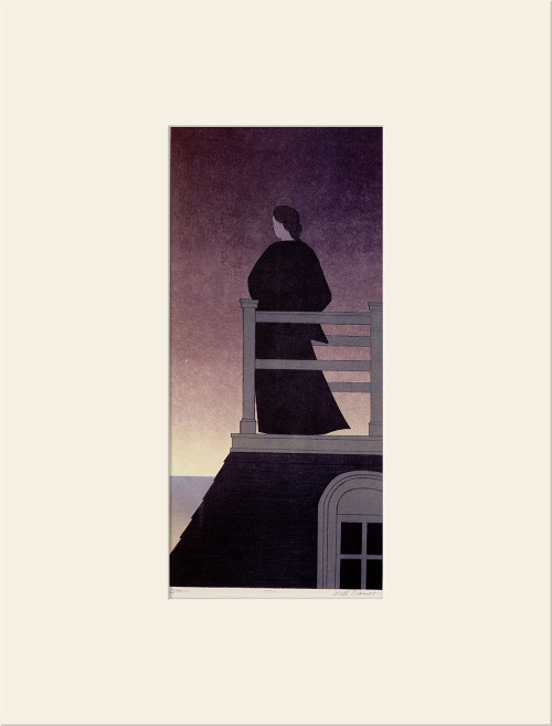 """Dawn (1975)"", Vintage Offset Lithograph After Will Barnet"