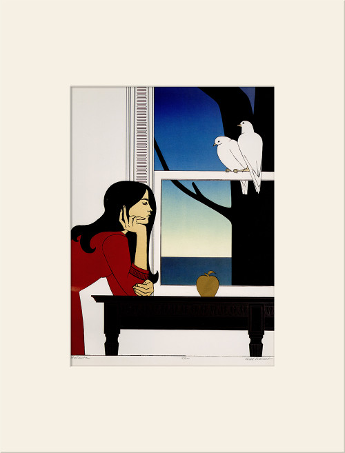 """Atalanta (1976)"", Vintage Offset Lithograph After Will Barnet"
