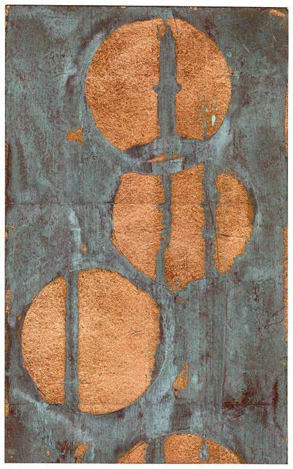"""Copper Circles III"" - Original Contemporary Art (SOLD)"
