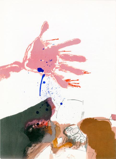 Original Paul Rebeyrolle Lithograph, Derriere Le Miroir No. 163, Circa 1967 (3)