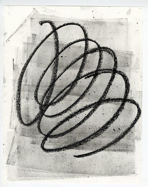 """Where Are We Now?"", Original Contemporary Charcoal Art (2)"