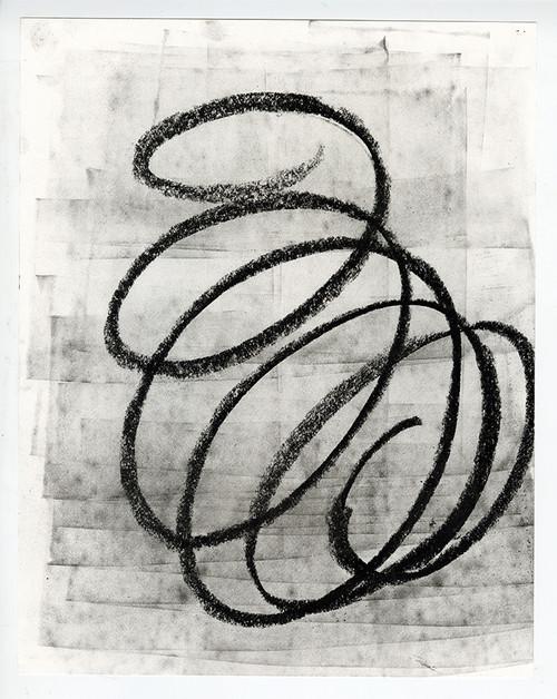 """Where Are We Now?"", Original Contemporary Charcoal Art (3)"