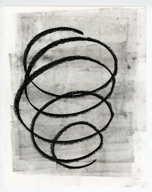 """Where Are We Now?"", Original Contemporary Charcoal Art (6)"