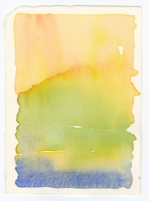 """""""Me Is Who I Love"""", Original Contemporary Watercolor Painting (3)"""