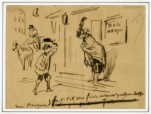19th Century Satirical French Caricature by Charles Amedee De Noe (Cham) (3)