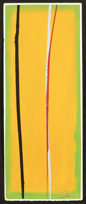 """""""Trying to Contact You (in Yellow) by Filippo Ioco (SOLD)"""