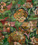 Vintage Hand-Painted Wall Paper Repeat Pattern From Paris
