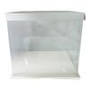 "12"" Acrylic Square Display Box - White"