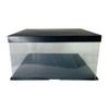 "14"" Acrylic Oversized Display Box - Black"