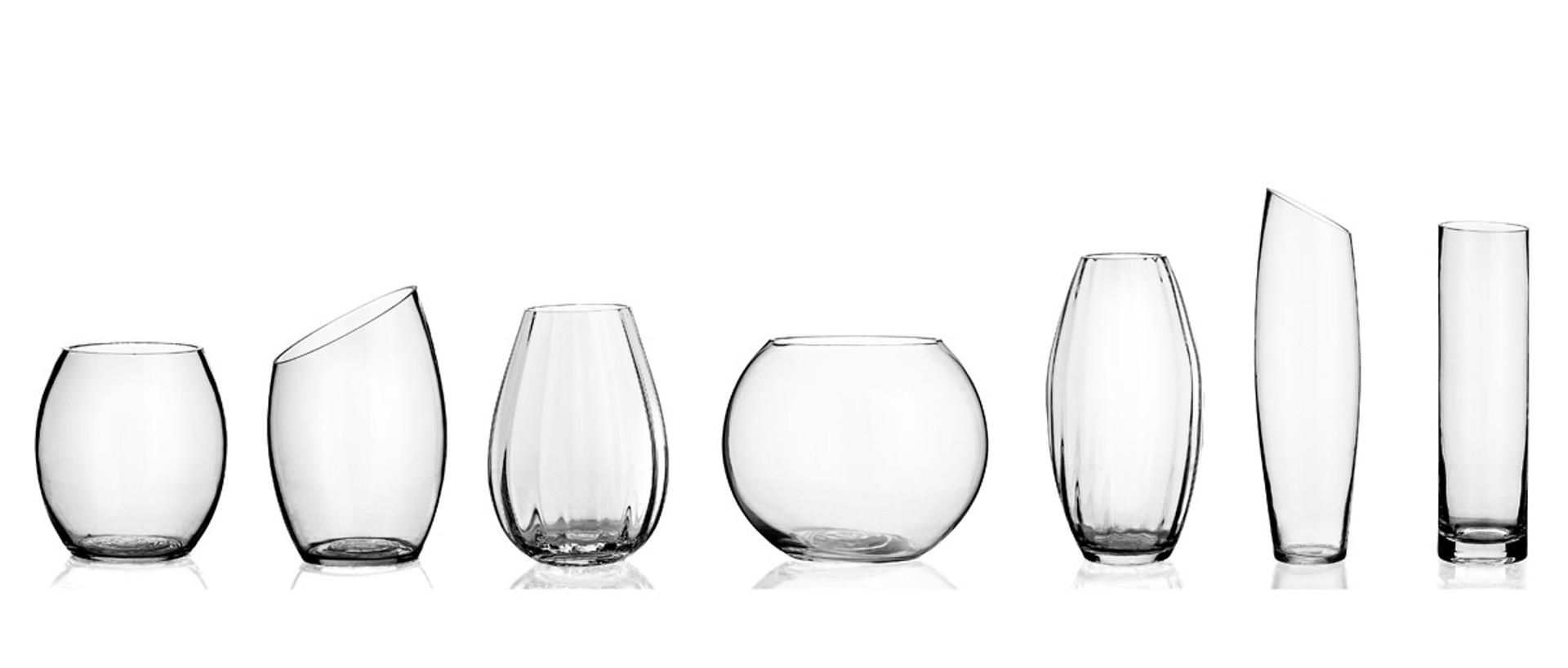 Floral Decor Glass Vases