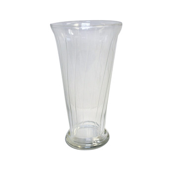 "10.5""H Romanesque Glass Vase"