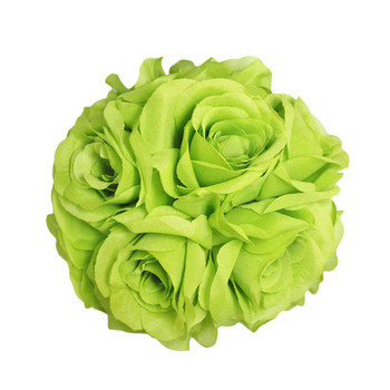 "7.5"" Apple Green Flower Ball"
