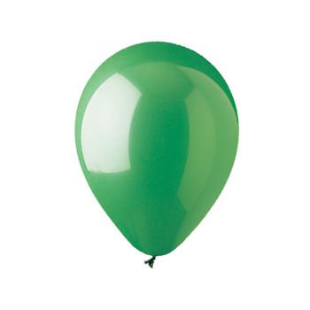 """12"""" Standard Green Balloons"""
