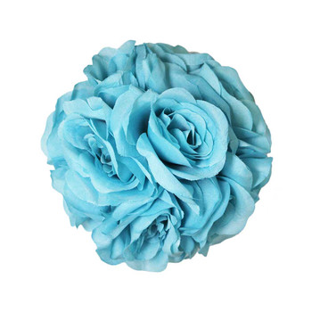 "7.0"" Turquoise Flower Ball"