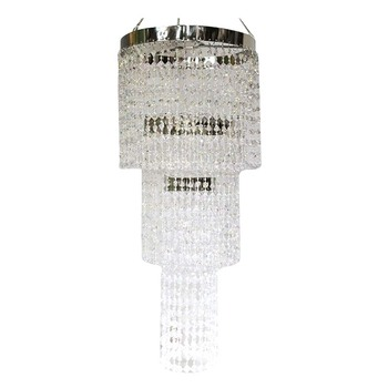 "24"" Crystal Chandelier"