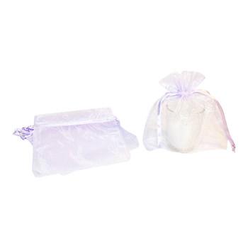 "5"" Lavender Organza Pouch"