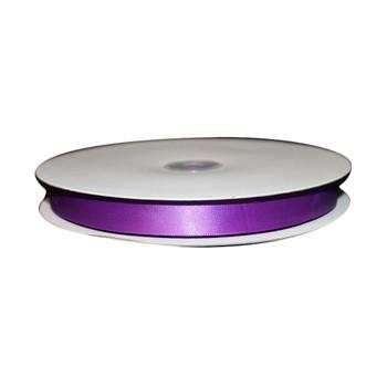 """5/8"""" Purple Single Face Satin Ribbon."""
