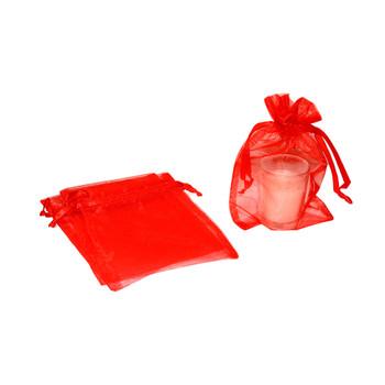 "5"" Red Organza Pouch"