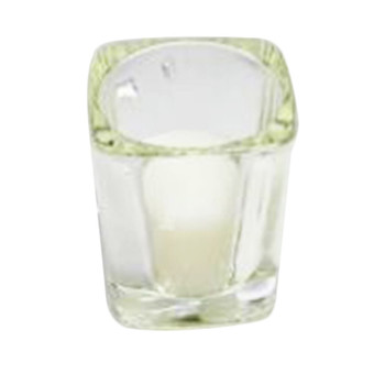 "2.5""  Glass Square Votive Candle Holder"