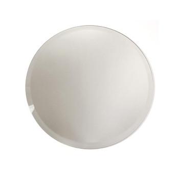 """12"""" Round Beveled Mirror Plate"""