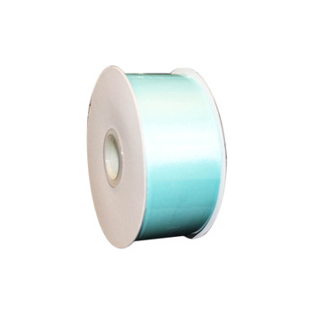 "1.5"" Light Blue Double Face Satin Ribbon"