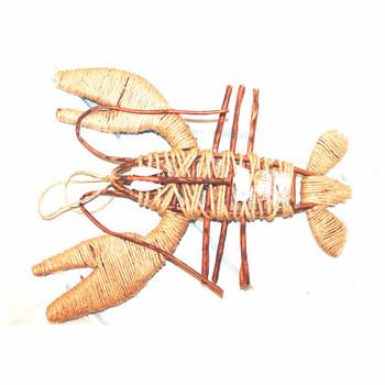 "25"" Burlap Lobster"