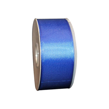 "1.5"" Royal Blue Double Face Satin Ribbon"