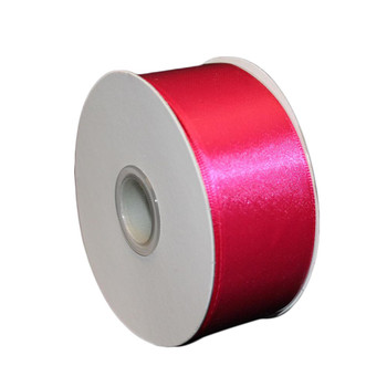 "1.5"" Fuchsia Double Face Ribbon"