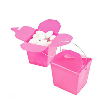 "2.25"" Hot Pink Take Out Boxes"