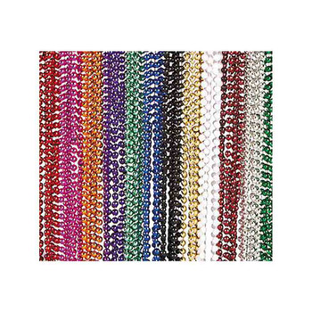 Assorted Metallic Bead Necklaces