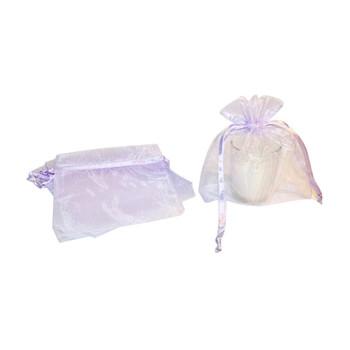 "4"" Lavender Organza Pouch"