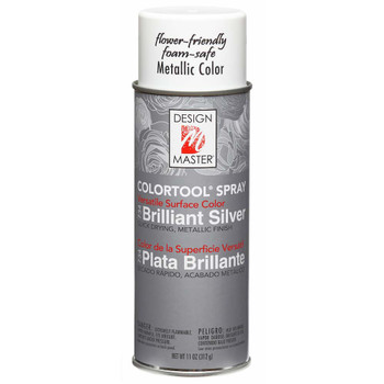 Brilliant Silver Color Spray