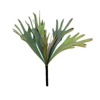 "13"" Artificial Staghorn Fern Bush"
