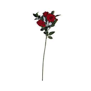 "35"" Red Velvet Long Stem Rose Flower"