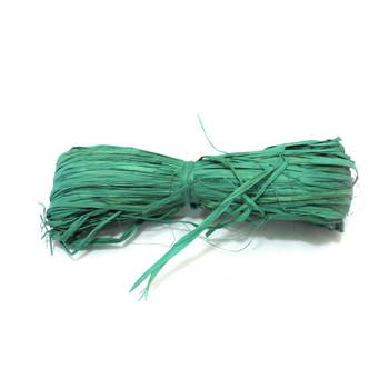 Green Raffia Ribbon