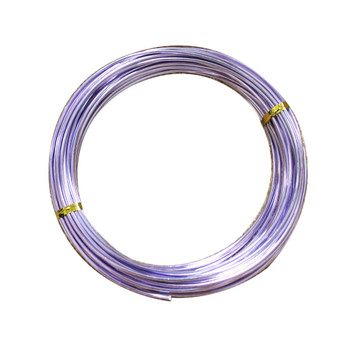 15 Gauge Lavender Decorative  Wire 39 Ft