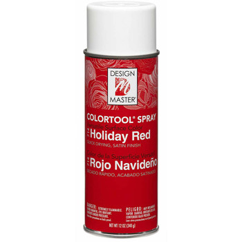 Holiday Red Color Spray