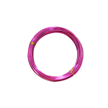 15 Gauge Fuchsia Decorative Wire 39 Ft