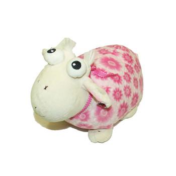 """13"""" Pink Plush Sheep"""