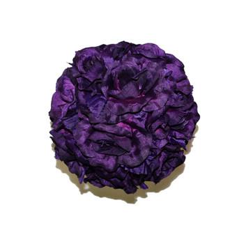 "7"" Purple Flower Ball"