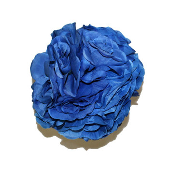 "7"" Blue Flower Ball"