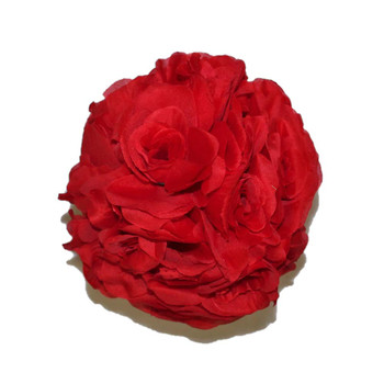 "7"" Red Flower Ball"