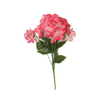 """14"""" Dark Pink Hydrangea Bunch Flower"""