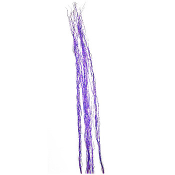 "58"" Purple Glittered Salix Bunch"