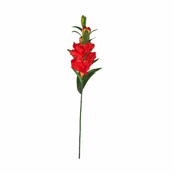 """46"""" Long Stem With Cayennes. Red"""