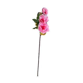 """38"""" Pink Long Stem Magnolia Flower"""