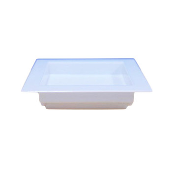 "2.75""  White Square Dessert Tray 1 2 PCs/Pack"