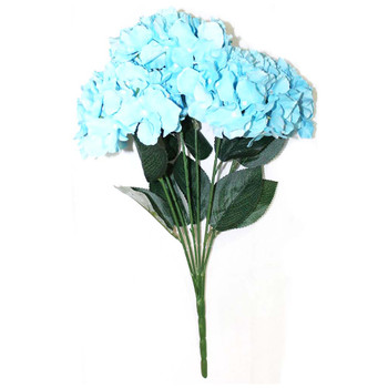 "20""  L. Blue Hydrangea Bunch Flower"