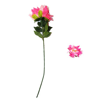 "30"" Pink Long Stem Chrysanthemum Flower"
